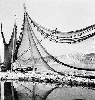 Charlotte Perriand, Filets de pêche, Bakarac, Croatie, 1929. Crédit © Charlotte Perriand.