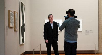 Interview de Alfred Pacquement, commissaire de l'exposition,