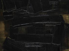 """🔊 """"Soulages et le musée national d'art moderne"""" au Centre Pompidou, Paris du 11 décembre 2019 au 9 mars 2020"""