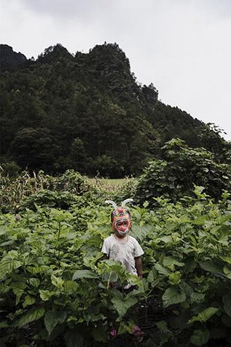 Tian Jin, Les herbes folles. © Tian Jin. Bourse du Talent # 78 Portrait.