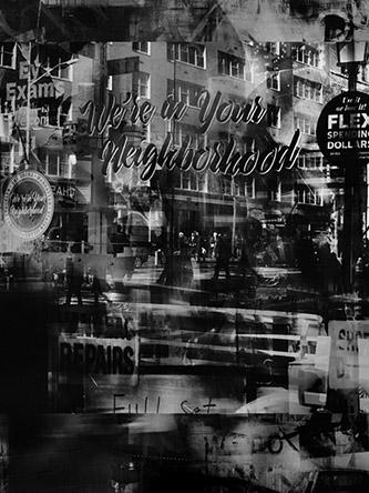 Valérie Belin, Uptown Vision (Reflection), 2019. Tirage pigmentaire contrecollé sur Dibond et encadré sous verre antireflet (non traité UV). Encadrée : 175 x 132 cm. Edition de 6 + 2 EA. Courtesy de l'artiste et Galerie Nathalie Obadia Paris / Bruxelles.