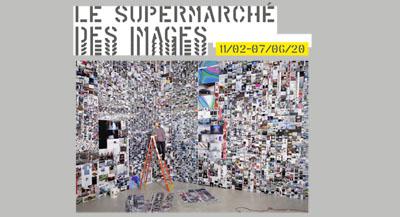 """Interview de Peter Szendy, auteur de l'ouvrage """"Le Supermarché du visible, Essai d'iconomie"""", et commissaire général de l'exposition."""