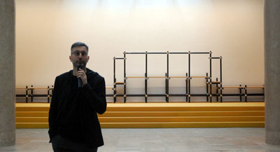 Interview de Fabien Danesi, co-commissaire de l'exposition