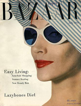 Harper's Bazaar, juillet 1958.Gleb Derujinsky.