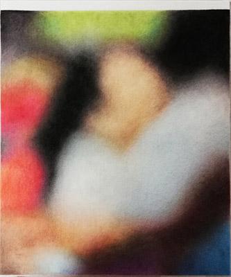 Léa Belooussovitch, Valencia, Venezuela, 28 mars 2018, 2019. Drawing, textile, 50 x 60 cm. Courtesy Galerie Paris-Beijing. Focus : Un regard sur la scène française : histoires communes et peu communes.
