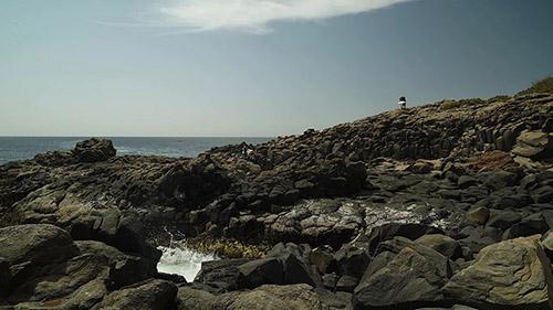 "Brognon Rollin, Cosmographia (Île de Gorée), 2015. Vidéo couleur, son, 7'31""."