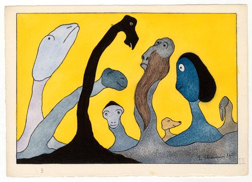 """🔊 """"Au pays des monstres"""" Léopold Chauveau (1870-1940) au Musée d'Orsay, Paris, du 10 mars au 28 juin 2020"""