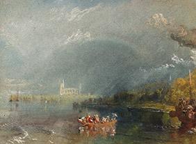 """🔊""""Turner, peintures et aquarelles"""" Collection de la Tate au Musée Jacquemart-André, Paris du 13 mars au 20 juillet 2020"""
