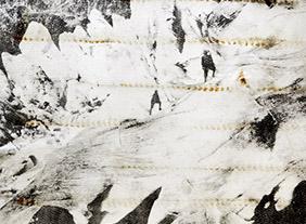 """🔊 """"Au bout du plongeoir, le grand bain"""" Laurence Aëgerter, Anaïs Boudot et Douglas Mandry, à la galerie binome, Paris, du 2 juin au 1er août 2020"""