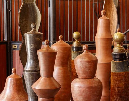 Exposition d'Axel Cassel au Domaine de Chaumont-sur-Loire, 2020. © Éric Sander.