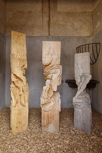 Installation de Marc Nucera au Domaine de Chaumont-sur-Loire, 2020. © Éric Sander.