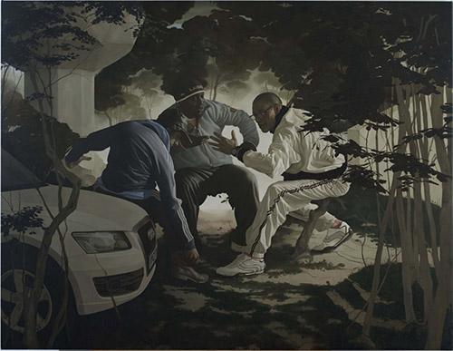 Guillaume Bresson, Sans titre, 2010. Courtesy Galerie Nathalie Obadia, Paris/Bruxelles.