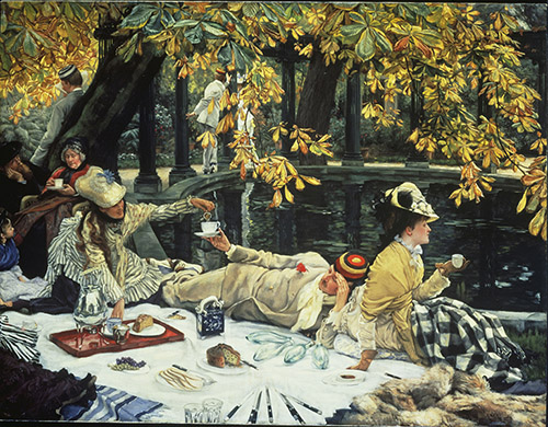 James Tissot (1836 - 1902), Jour Saint (Holyday), vers 1876. Royaume-Uni, Londres, Tate Collection. Photo © Tate, Londres, Dist. RMN-Grand Palais / Tate Photography.