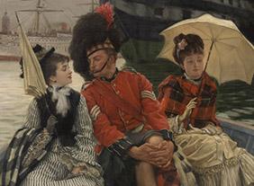 """🔊 """"James Tissot (1836-1902)"""" l'ambigu moderne, au Musée d'Orsay, Paris, du 23 juin au 13 septembre 2020"""