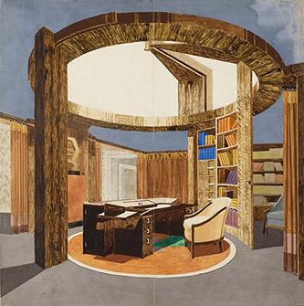 Pierre Chareau, Bureau-bibliothèque de l'Ambassade Française, 1925. Don René Herbst, 1961. © MAD, Paris.