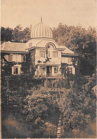 Joseph Philibert Girault de Prangey, Villa des Tuaires, vers 1860 et 1870, Langres, MAH, photo Arnaud Vaillant.