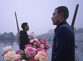 """🔊 """"Les flots écoulés ne reviennent pas à la source"""" Regards de photographes sur la rivière en Chine, à l'Abbaye de Jumièges,  du 15 juillet au 29 novembre 2020"""