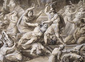 """🔊 """"Jean-Marie Delaperche (1771-1843)"""" Un artiste face aux tourments de l'Histoire, au Musée des Beaux-Arts d'Orléans, du 2 juin au 30 octobre 2020"""