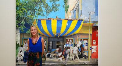 PODCAST - Interview de Androula Michael, historienne de l'art et co-commissaire de l'exposition, par Anne-Frédérique Fer, à Paris, le 21 juillet 2020, durée 17'24. © FranceFineArt.