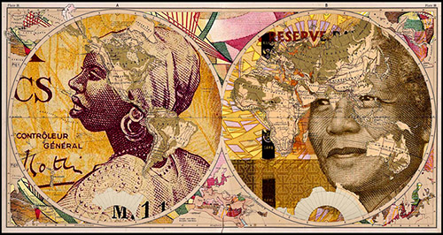 Malala Andrialavidrazana, Figures 1867, Principal Countries of the World, série, Figures (2015-en cours). © Malala Andrialavidrazana.