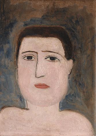 Marie Laurencin (1883-1956), Portrait de Guillaume Apollinaire, 1908-1909, 28,2 x 20,3 cm. Huile sur carton. © Musée de l'Orangerie / Patrice Schmidt. © ADAGP, Paris 2020.