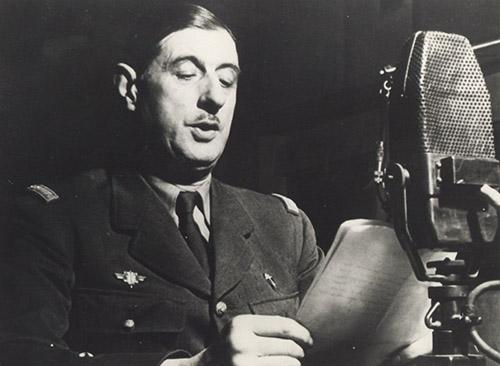 Charles de Gaulle. © Fondation Charles de Gaulle.