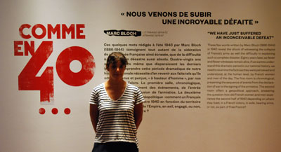 PODCAST -Interview de Carine Lachèvre, adjointe au chef du département de l'historial Charles de Gaulle, et co-commissaire de l'exposition, par Anne-Frédérique Fer, à Paris, le 16 septembre 2020, durée 21'41. © FranceFineArt.