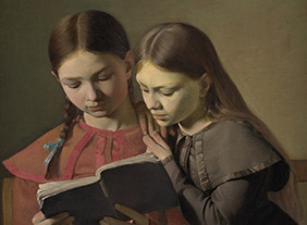 """🔊 """"L'Âge d'or de la peinture danoise"""" (1801-1864), au Petit Palais, Paris, du 22 septembre 2020 au 3 janvier 2021"""