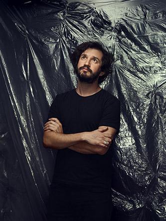 Portrait d'Enrique RamÍrez. © Manuel Braun.