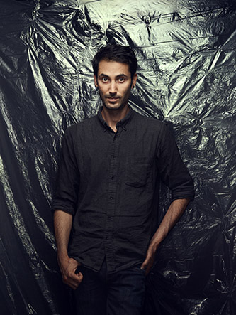 Portrait d'Hicham Berrada. © Manuel Braun.