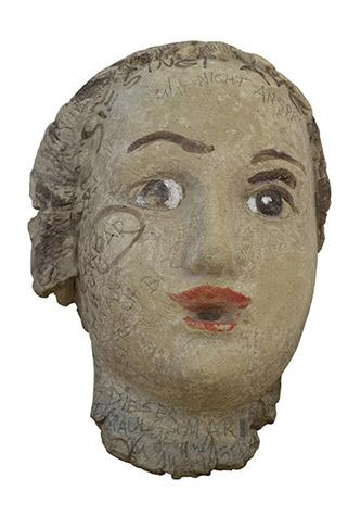 Annemarie von Matt, Mutter mit Kind / Die Nicht AnsprechBAR / Mère et enfant / L'inabordable, 1940-1961, argile, peint et inscrit, 24,5 x 16 x 10 cm, Nidwaldner Museum, Stans. Photo : Christian Hartmann.