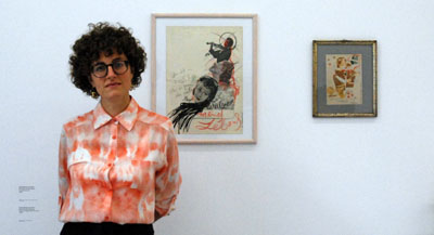 PODCAST -Interview de Claire Hoffmann, responsable de la programmation arts visuels du Centre culturel suisse et co-commissaire de l'exposition, par Anne-Frédérique Fer, à Paris, le 9 octobre 2020, durée 11'57. © FranceFineArt.