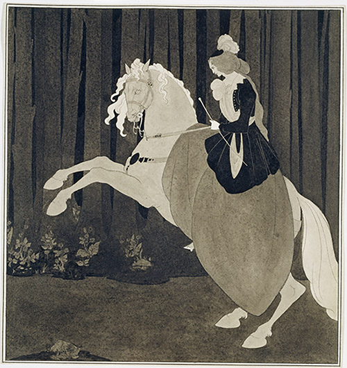 Aubrey Beardsley (1872-1898), Frontispiece to Chopin's Third Ballade. Royaume-Uni, Londres, Tate Collection. © Tate, Londres, Dist. RMN-Grand Palais / Tate Photography.