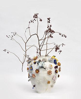 Marlène Mocquet, Vase, 2020. Photo : © Rebecca Fanuele.
