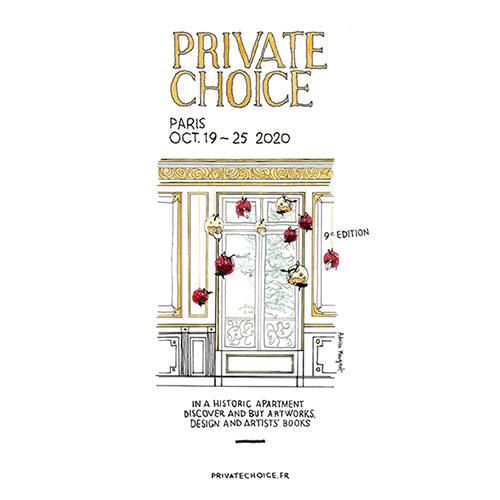 Adrien Mouginot, identité visuel Private Choice édition 2020.