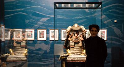 PODCAST -Interview de Manuela Moscatiello, responsable des collections japonaises du musée Cernuschi et commissaire de l'exposition, par Anne-Frédérique Fer, à Paris, le 19 octobre 2020, durée 15'23. © FranceFineArt.