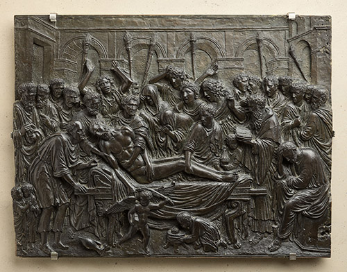 Andrea Briosco, dit Riccio, La Mort, vers 1515. Paris, musée du Louvre, département des Sculptures. © RMN - Grand Palais (Musée du Louvre) / Stéphane Maréchalle.