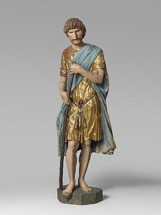 Francesco di Giorgio Martini. Saint Christophe. Vers 1488-1490. Paris, musée du Louvre, département des Sculptures. © Musée du Louvre, dist. RMN-Grand Palais / Hervé Lewandowski.