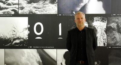 PODCAST -Interview de Thomas Delamarre, conservateur à la Fondation Cartier pour l'art contemporain et co-commissaire de l'exposition, par Anne-Frédérique Fer, à Paris, le 22 octobre 2020, durée 11'47. © FranceFineArt.