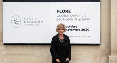 PODCAST -Interview de FLORE, par Anne-Frédérique Fer, à Paris, le 29 octobre 2020, durée 30'51. © FranceFineArt.