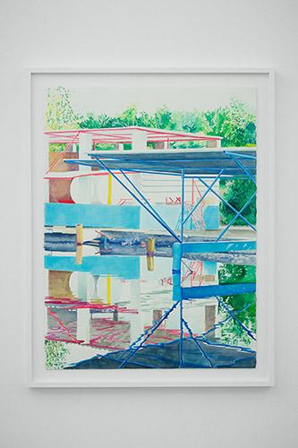 Marion Charlet, vue de l'exposition … Et l'été reviendra. © Marion Charlet, courtesy Galerie Paris-Beijing.
