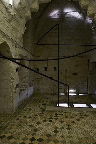 Charlotte Charbonnel, Continuum, 2020. Exposition de Charlotte Charbonnel à l'Abbaye de Maubuisson, Photo C. Brossais – CDVO