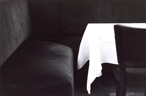 Bernard Plossu, Paris, 1973. Tirage argentique d'époque, 23,6 x 30 cm. Bibliothèque nationale de France. photo © BnF - Département des Estampes et de la. photographie © Bernard Plossu.