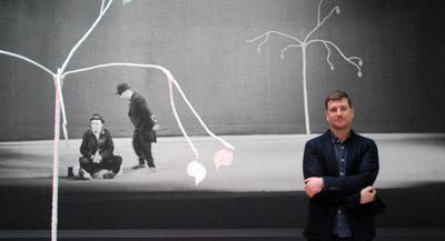 PODCAST -Interview de Hugo Daniel, responsable de l'Ecole des Modernités, chargé de mission curatoriale et commissaire de l'exposition, par Anne-Frédérique Fer, à Paris, le 8 janvier 2021, durée 12'39. © FranceFineArt.