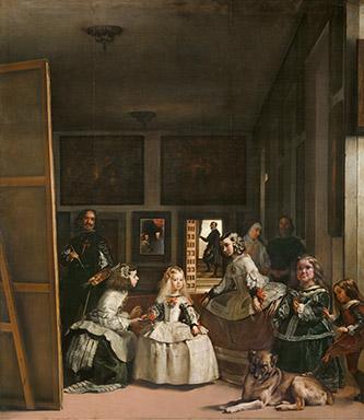 Alain Diego Velazquez : Les Ménines ou la Famille de Philippe IV, Madrid, Museo Nacional del Prado © Museo Nacional del Prado, Dist. RMN-GP / image du Prado.