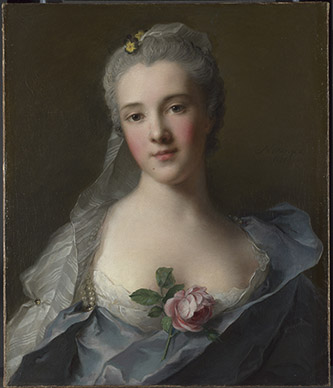 Jean-Marc Nattier : Manon Balletti, Londres, National Gallery © The National Gallery, Londres, Dist. RMNGrand Palais / National Gallery Photographic Department.