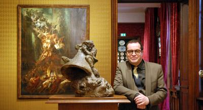PODCAST -Interview de Gérard Audinet, conservateur général du patrimoine, directeur des Maisons de Victor Hugo, Paris / Guernesey, par Anne-Frédérique Fer, à Paris, le 22 février 2021, durée 22'49. © FranceFineArt.