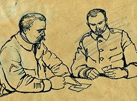 """""""Georges Bruyer"""" Graver la guerre, au musée de la Grande Guerre, Meaux, du 21 mars au 22 août 2021"""