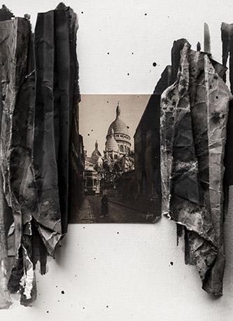 Lucia Tallová, Série Paris Diary, 2020. © Lucia Tallová. OEuvre produite lors de la résidence de l'artiste à la Cité Internationale des Art à Paris. Exposition est organisée en coopération avec Institut Slovaque de Paris.