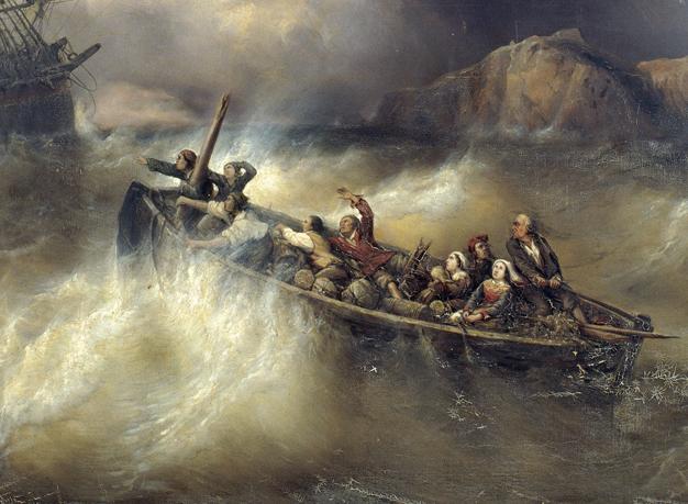 """🔊 """"Tempêtes et naufrages"""" de Vernet à Courbet, au Musée de la Vie Romantique, Paris, à réouverture des musées et jusqu'à la fin de l'été"""